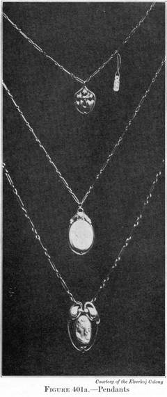"Elverh�j pendants from Varnum's 1916 ""Industrial Arts Design"""