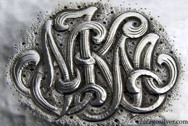 Clemens Friedell silver plate -- monogram