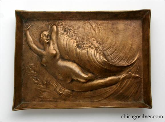 Clemens Friedell bronze tray