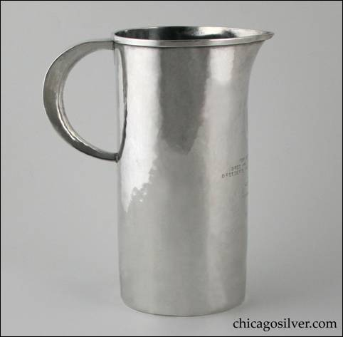 Robert Jarvie pitcher-form trophy