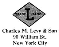 Charles M. Levy & Son jewelry mark