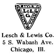 Lesch & Lewis Co. jewelry mark
