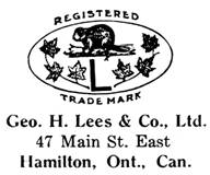 George H. Lees & Co. jewelry mark