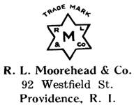 R. L. Moorehead & Co. jewelry mark