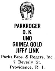 Parks Bros. & Rogers jewelry mark