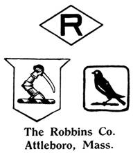 The Robbins Co. jewelry mark