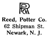 Reed, Potter Co. jewelry mark