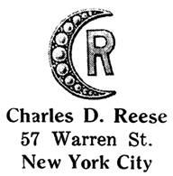 Charles D. Reese jewelry mark