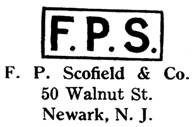 F. P. Scofield & Co. jewelry mark
