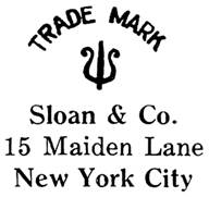 Sloan & Co. jewelry mark