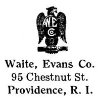 Waite, Evans Co. jewelry mark