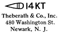 Theberath & Co. jewelry mark