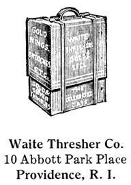 Waite Thresher Co. jewelry mark
