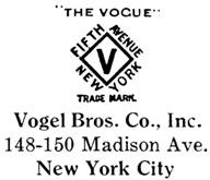 Vogel Bros. Co. jewelry mark