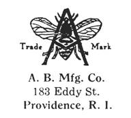 A. B. Mfg. Co. jewelry mark