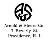 Arnold & Steere Co. jewelry mark