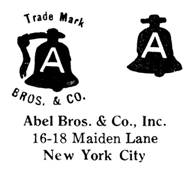 Abel Bros. & Co. jewelry mark