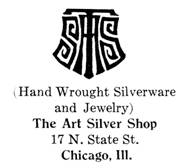 Art Silver Shop jewelry mark