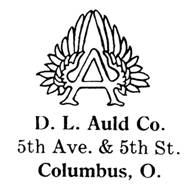 D. L. Auld Co. jewelry mark