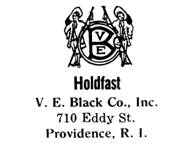 V. E. Black Co. jewelry mark