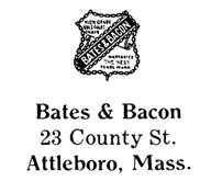 Bates & Bacon jewelry mark
