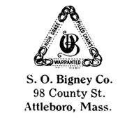 S. O. Bigney Co. jewelry mark
