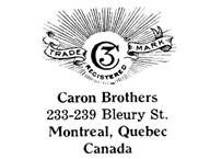 Caron Brothers jewelry mark
