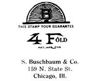 S. Buschbaum & Co. jewelry mark