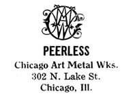 Chicago Art Metal Works jewelry mark