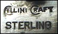 Cellini-Craft sterling mark