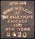 Relatively old Kalo Shop mark