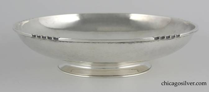 Kalo modernist bowl with reeded edges