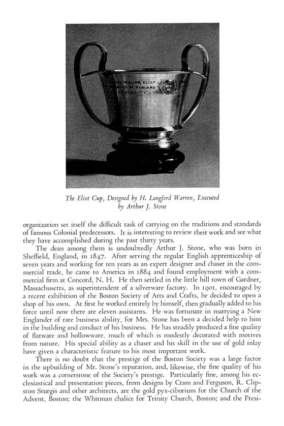 Silversmiths of New England -- Henry P. Macomber -- p. 3