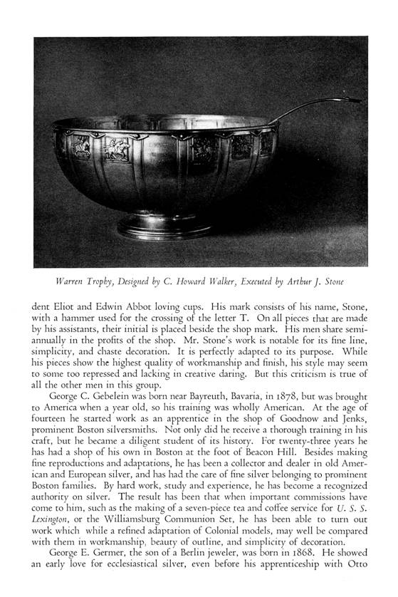 Silversmiths of New England -- Henry P. Macomber -- p. 4