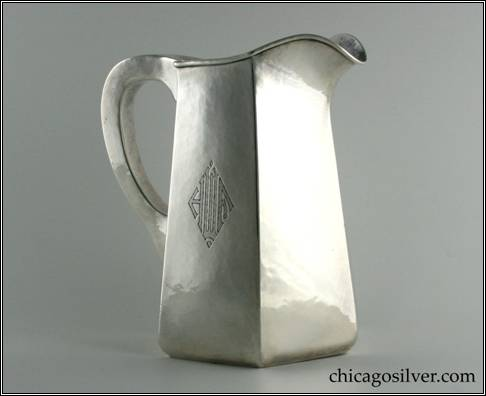 Randahl pitcher (for Hardy & Hayes Co.)