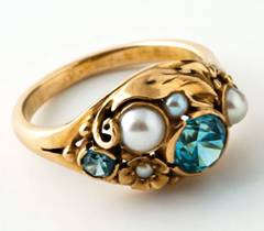 Edward Oakes gold ring