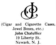 John Chatellier silver mark