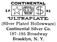 Continental Silver Co. silver mark