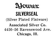 Associated Silver Co. silver mark
