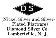 Diamond Silver Co. silver mark