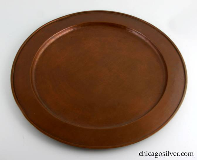 Kalo copper tray for samovar