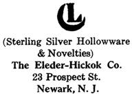 Eleder-Hickok Co. silver mark