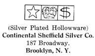 Continental Sheffield Silver Co. silver mark