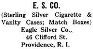 Eagle Silver Co. silver mark