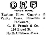 G. H. French & Co. silver mark