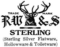 R. Wallace & Sons Mfg. Co. silver mark