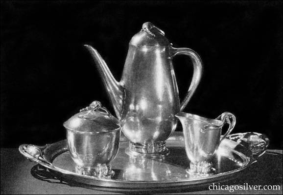 Coffee Service by Peer Smed from the 1937 Brooklyn Museum of Art 